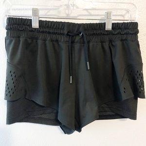 Adidas Stella McCartney 2-in-1 shorts black med